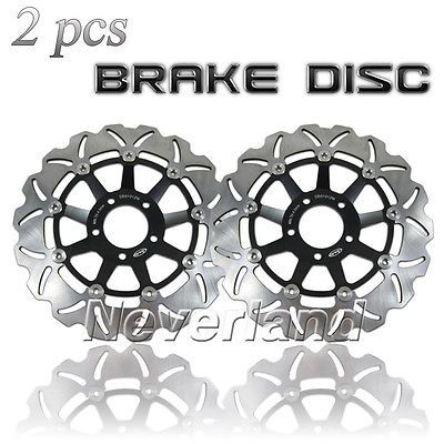 205.86$  Watch here - http://alisz6.worldwells.pw/go.php?t=32330990368 - Hot sale Motorcycle Front Brake Disc Rotor for Suzuki GSXR 750 1989-1995/GSXR 1100 1989-2000 Black Free shipping C20