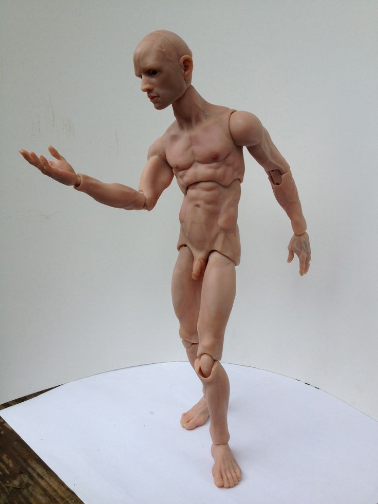OOAK male BJD Ball Jointed Doll, detailed realistic ...