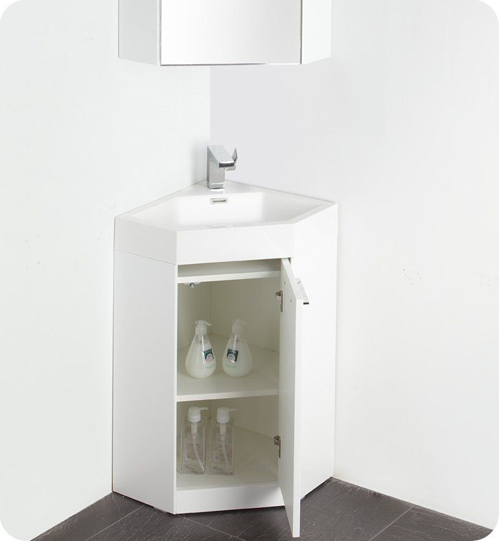 Lucida Coda 25 Single Bathroom Vanity Set Corner Bathroom Vanity Small Bathroom Vanities Single Bathroom Vanity