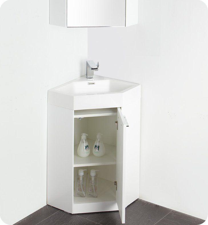 Lucida Coda 25 Single Bathroom Vanity Set Corner Bathroom Vanity Small Bathroom Vanities Single Bathroom Vanity