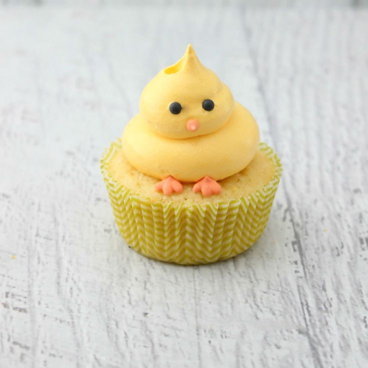 Easter Chick Cupcakes – The Simple, Sweet Life