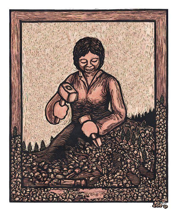 Self Made Woman Poster Art For Social Justice Ricardo Levins Morales Poster Art Art Women Poster