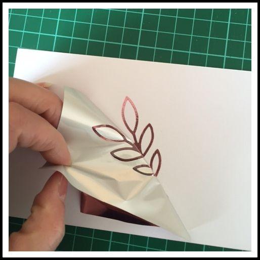 Inspiration Création Blog: Du foil sur vos créations sans machine ni MINC ni plastifieuse