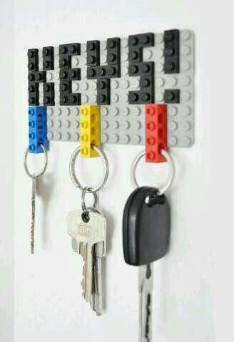 Lego key holder #lego
