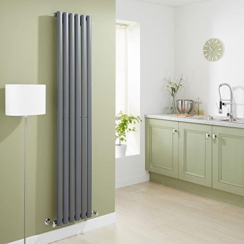 The Milano Aruba vertical designer radiator will revamp any room in your home