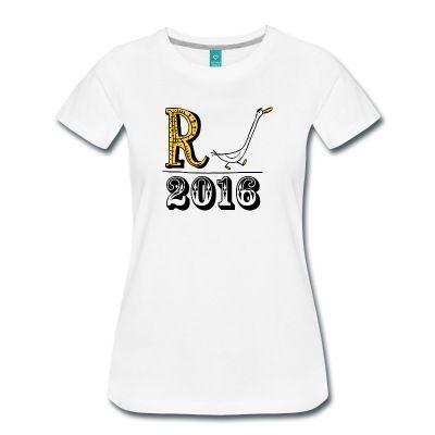 Deine Kollegin geht in den verdienten Ruhestand. Bei der Verabschiedung ist ein lustiges R-ente = Rente 2016 t-shirt eine gute Geschenkidee.