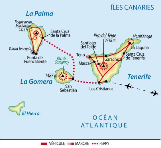 Canaries Le Meilleur Des Iles Fortunees Tenerife La Gomera Et