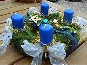 Vianočná výzdoba 6 - Venčeky so zimným motívom