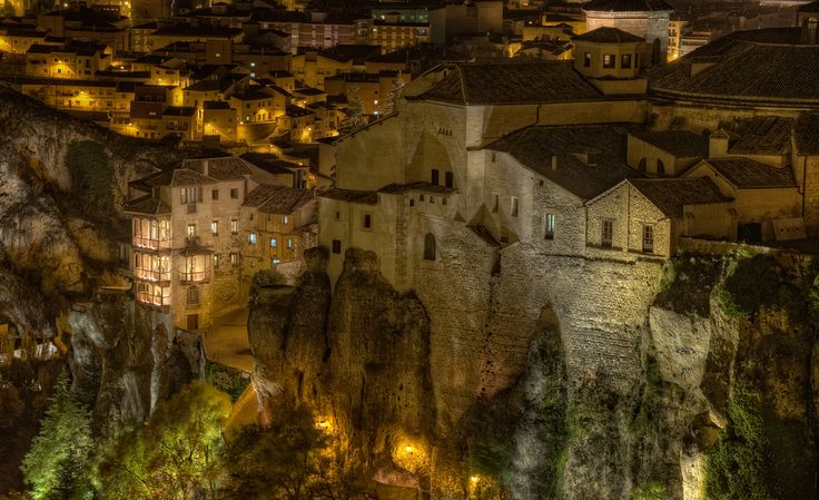 The hanging houses of Cuenca, Spain...I would love to call this city home.