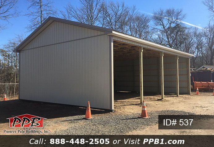 3 Sided Building For Storage Pole Buildings Building Metal Siding