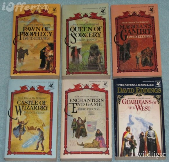 19 best books books books images on pinterest fantasy books the belgariad a five book young adult fantasy epic by david eddings published fandeluxe Gallery