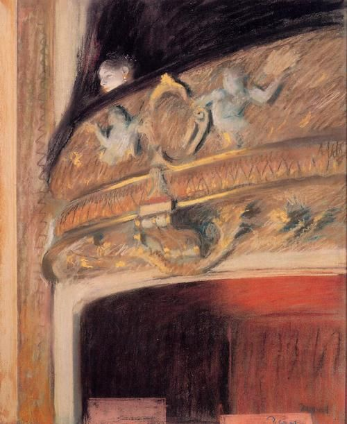 The Box at the Opera, 1880, by Edgar Degas (1834–1917).