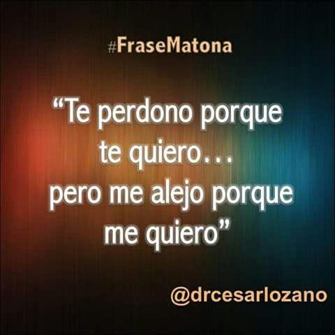 Frase Matona. Cesar Lozano