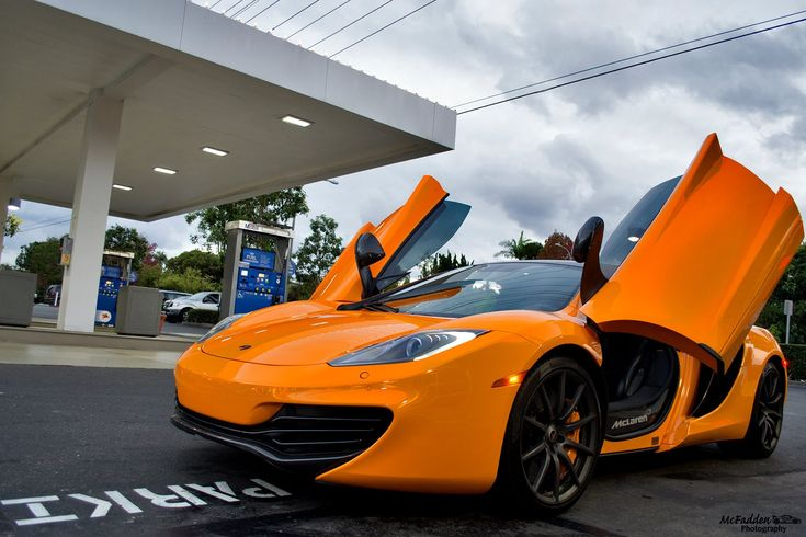 Getting Picked Up From School In A McLaren