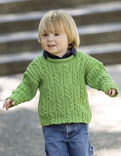 Free Pattern: Provence Cabled Pullover