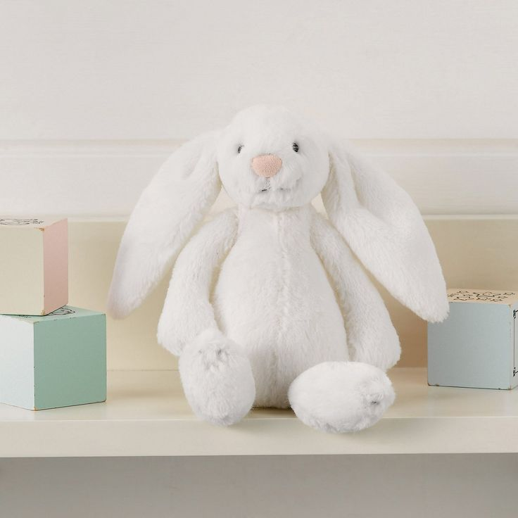 Jellycat Bashful Bunny - Small White | The White Company Exclusive