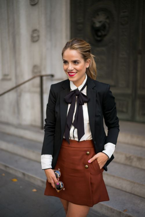 Tailored for Fall,wearing Express: