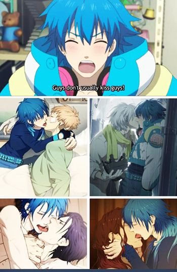Aoba you are the biggest uke around the universe wtf man?! Akdj That part was so funny XD