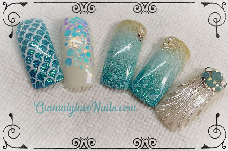 beach theme,mermaid and seashells