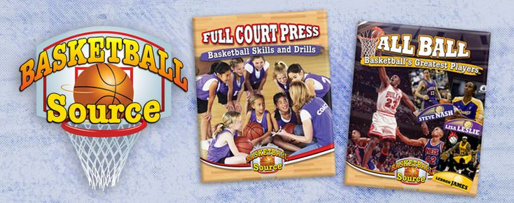 Basketball Source series -- This exciting series features the history of basketball, the game's top players of all time, and tips and tricks on how to be a better ball player. Grades 3-6