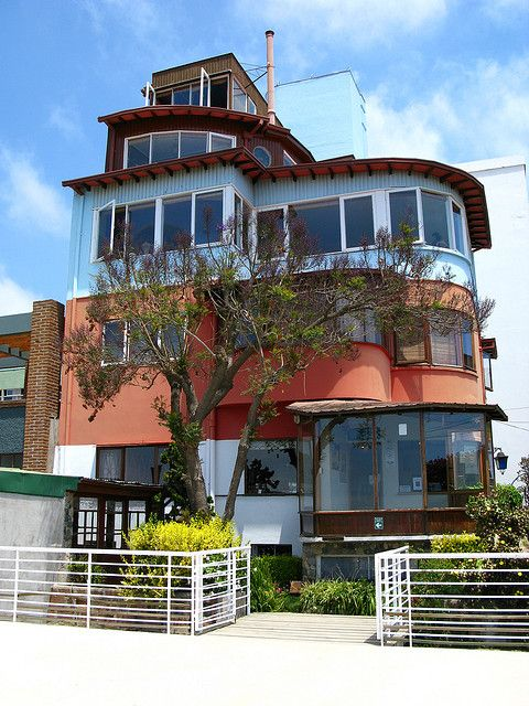 Pablo Neruda's Valparaiso house, Chili