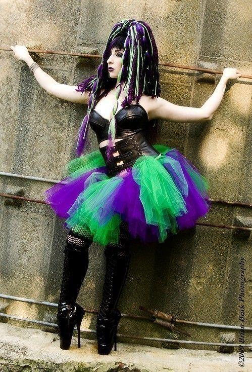 Monster tutu skirt Adult petticoat halloween by SistersOfTheMoon