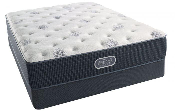 Full XL Simmons Beautyrest Silver Kenosha Place III Luxury Firm Mattress - Simmons - Mattresses