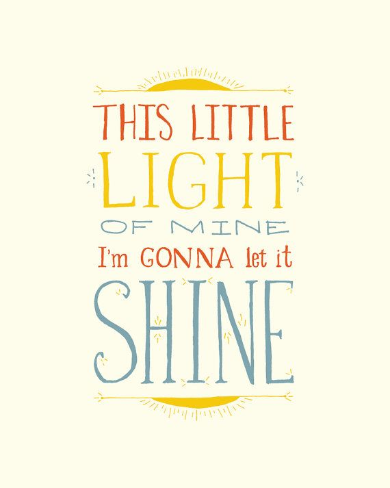 This little light of mine I'm gonna let it by littlethingsstudio