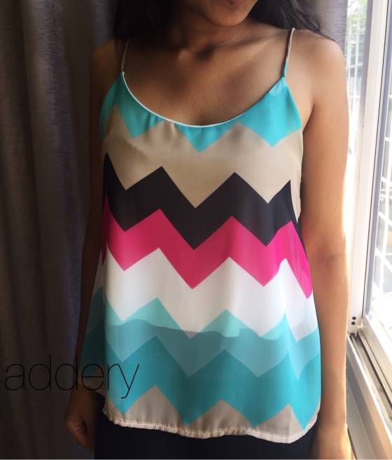 Shopo.in : Buy Chevron Cami online at best price in Mumbai, India