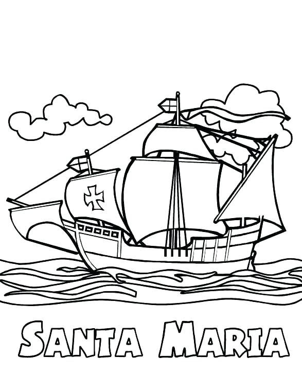 Columbus Day Coloring Pages Coloring Pages Coloring Pages For