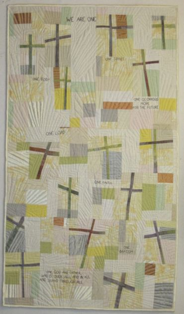 Gallery-The Signature of Jesus Quilt Series | Debby Schnabel, Art Quilts: