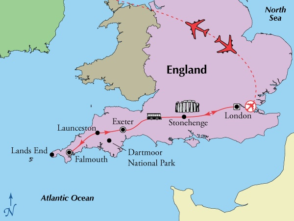 9 Day Tour of Southern England & Stonehenge & Air. OMGoodness, if they do this for 2013 I'll be all set....