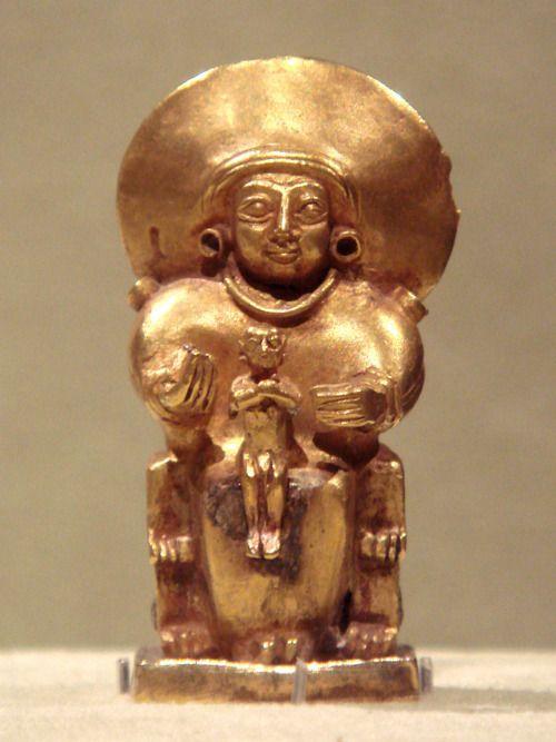 Hittite Goddess And Child, Anatolia 15th-13th Century BCE