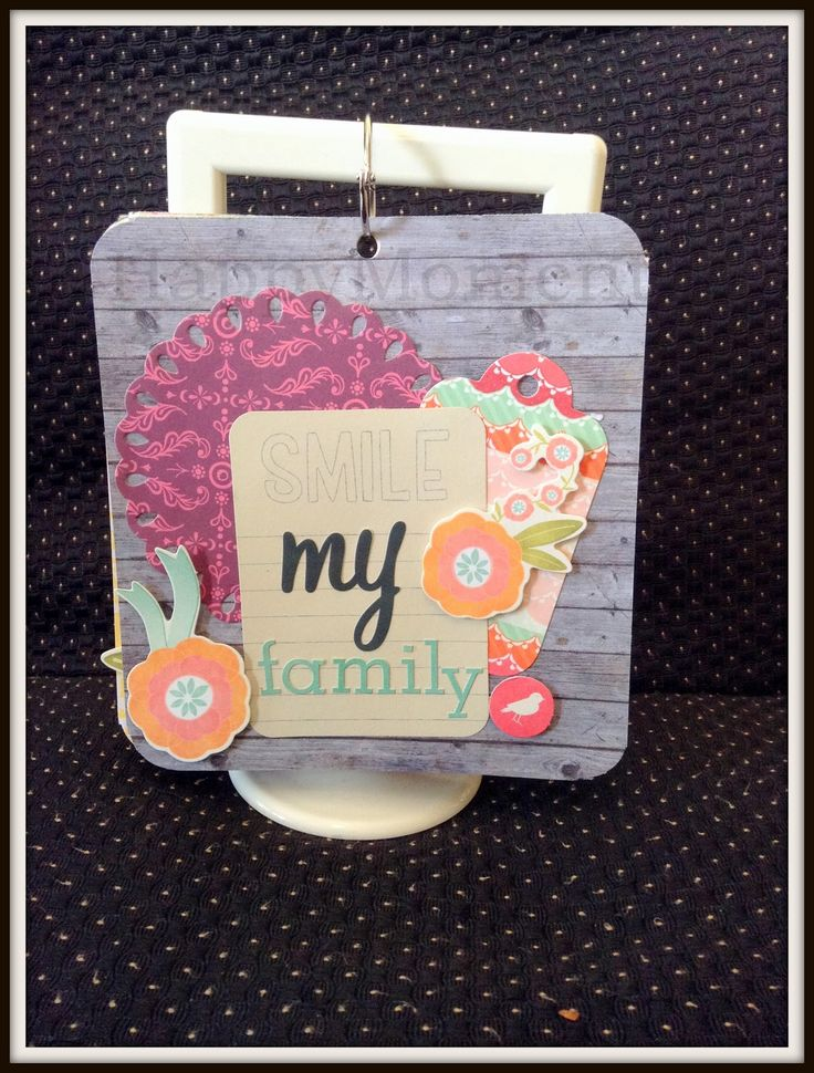HappyMomentzz crafting by Sharada Dilip: Grandparents Day DIY Tabletop Photo Album
