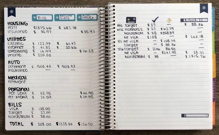 budget planner 2018 2019