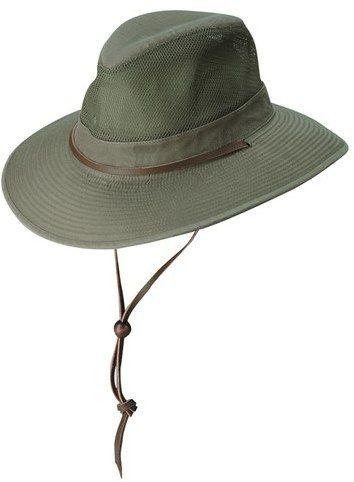 Dorfman Pacific Brushed Twill Safari Hat. https://api.shopstyle.com/action/apiVisitRetailer?id=517429522&pid=uid8100-34415590-43