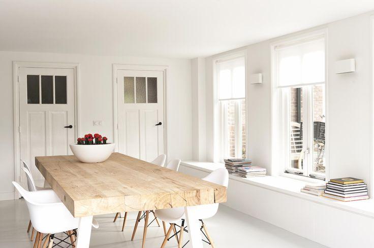 Aanbouw, keukenopstelling en interieur. Interieurplan Gerealiseerd door Jolanda Knook interieurvormgeving www.jolandaknook.nl