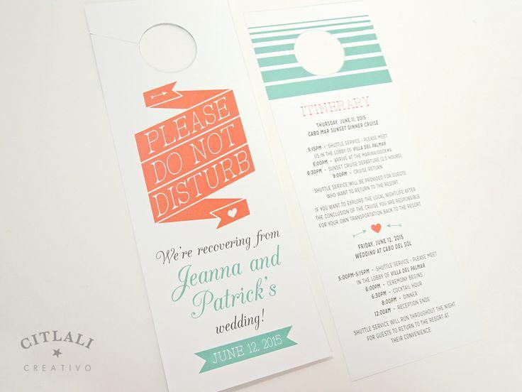 Best 25 Wedding Door Hangers Ideas On Pinterest Simple
