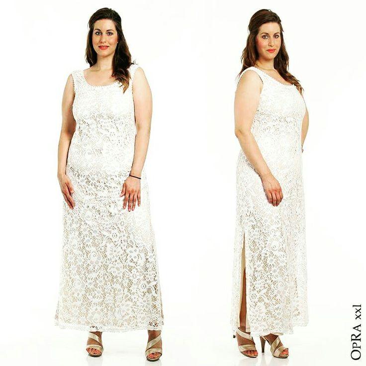 Με ρομαντική διάθεση και τη γλυκιά αίσθηση του καλοκαιριού 🌸 διαλέγουμε ένα μάξι δαντελένιο φόρεμα για μια εμφάνιση που θα μαγνητίσει τα βλέμματα!  *Τώρα στη μισή τιμή ~ Σε No XXS - XXL (48 - 60) #opra_xxl #fashion #outfit #look #summer #collection #dress