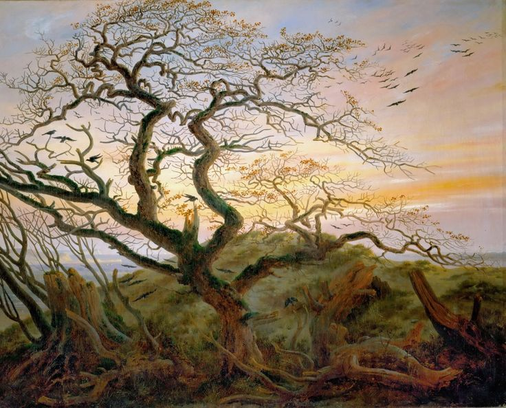 Caspar David Friedrich - The Tree Of Crows
