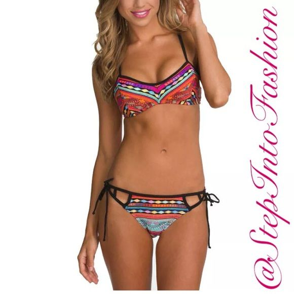 COMING SOONtwo piece Bikini COMING SOONtwo piece Bikini   Summer ☀️is right right around the corner ! Be ready for it with this super cute two piece bathing suite   Padded push-up up bra   ☑️Available in S-M-L☑️  ❗️BRAND NEW❗️ straight from vendor without tag  comment or like if your interested and I will let you know when it becomes available  Happy shopping ... Swim Bikinis