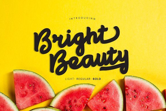 Bright beauty by madeDeduk on @creativemarket