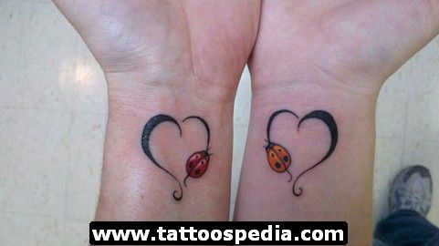 Mother Daughter Tattoo Quotes | mother%20daughter%20tattoos%2009 Mother Daughter Tattoos 9
