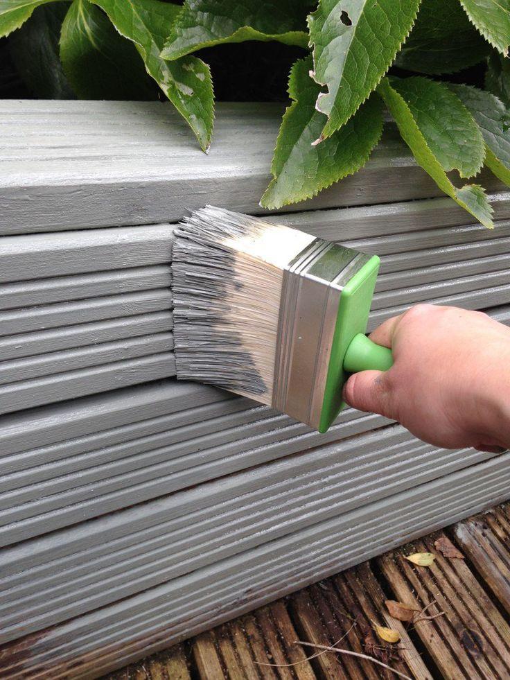 Painting Decking Stylish Gardens Ronseal Garden Paint