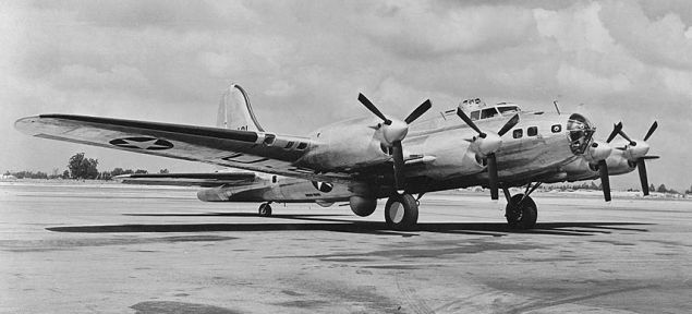 The Prettiest B17 Flying Fortress Was The Gorgeous XB38