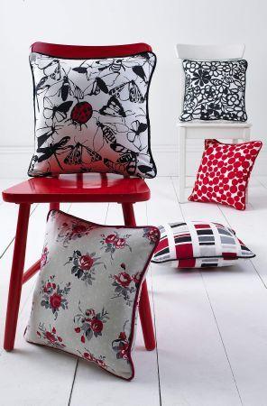 "Prestigious Textiles ""Weekend"" collection cushions"