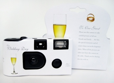 13 Wedding Disposable Cameras- 27 Pictures Each, 36% off | Recycled Bride