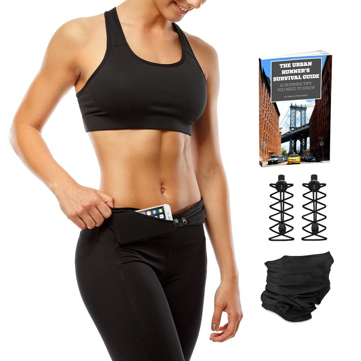 BEST VALUE PACK ON AMAZON - THREE FREE BONUS GIFTS: Urban Active Sports Black Pair Of Urban Elastic Laces (VALUE $9.95) Urban Active Sports Black Multipurpose Scarf (VALUE $9.95) And Urban Runner's Survival Guide EBOOK (VALUE $5.95) For A More Enjoyable Running Experience (TOTAL VALUE $25.85)