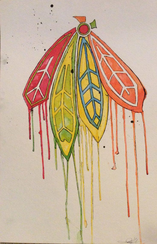 23 best art for the heart images on Pinterest | Chicago blackhawks ...