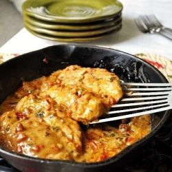 Sun Dried Tomato Chicken: this dish blew me away. Try it. Your family will be grateful you did.
